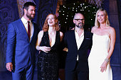 Australian actor Chris Hemsworth American actress Jessica Chastain French film director Cedric NicolasTroyan and South African and American actress...