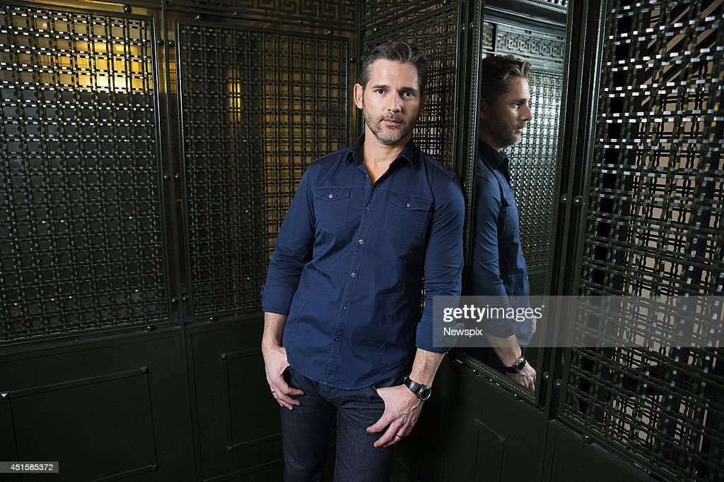 Australian actor <a gi-track='captionPersonalityLinkClicked' href=/galleries/search?phrase=Eric+Bana&family=editorial&specificpeople=202104 ng-click='$event.stopPropagation()'>Eric Bana</a> poses during a photo shoot at the Intercontinental Hotel on July 1, 2014 in Sydney, Australia. Bana is in Sydney to promote his new film 'Deliver Us from Evil'.