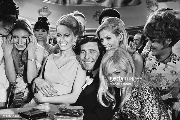 Australian actor George Lazenby playing 'James Bond' during a scene from 'On Her Majesty's Secret Service' 17th March 1969