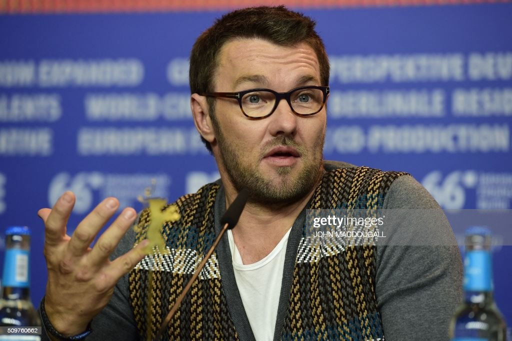 Australian actor Joel Edgerton attends a press conference for the film ' Midnight Special by Jeff Nichols' screened in competition of the 66th Berlinale Film Festival in Berlin on February 12, 2016. / AFP / John MACDOUGALL