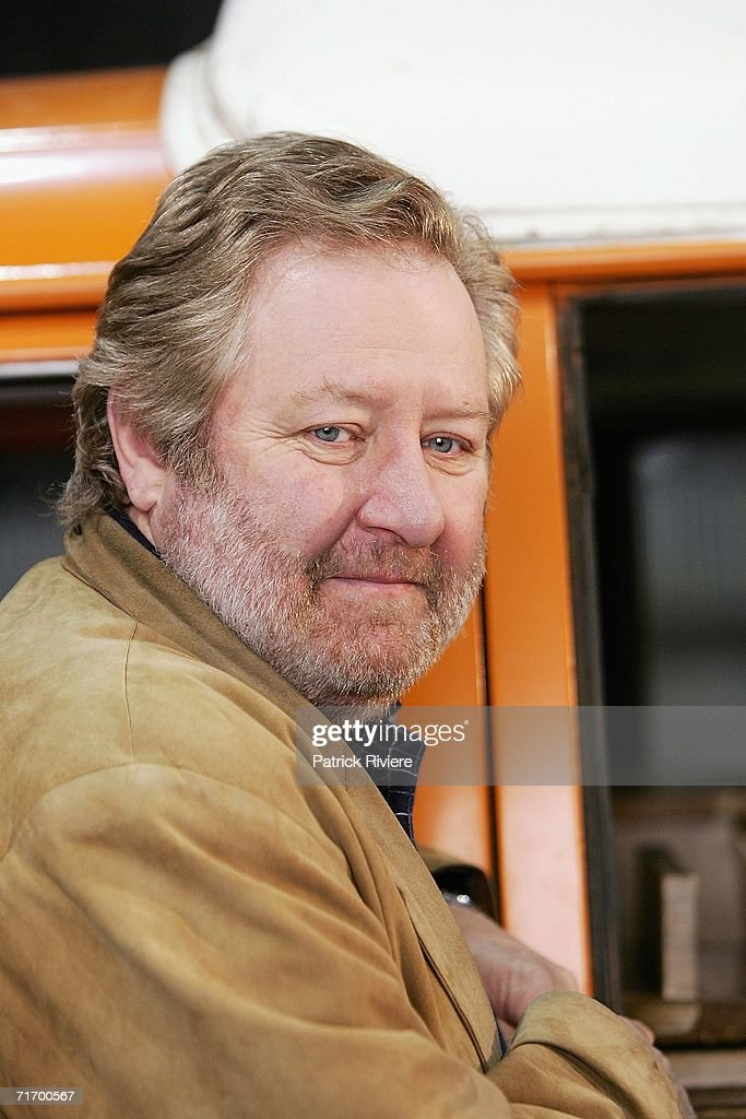 Australian actor John Wood attends a media press conference to introduce the key cast of the new television production 'To Catch A Killer The Joanne...