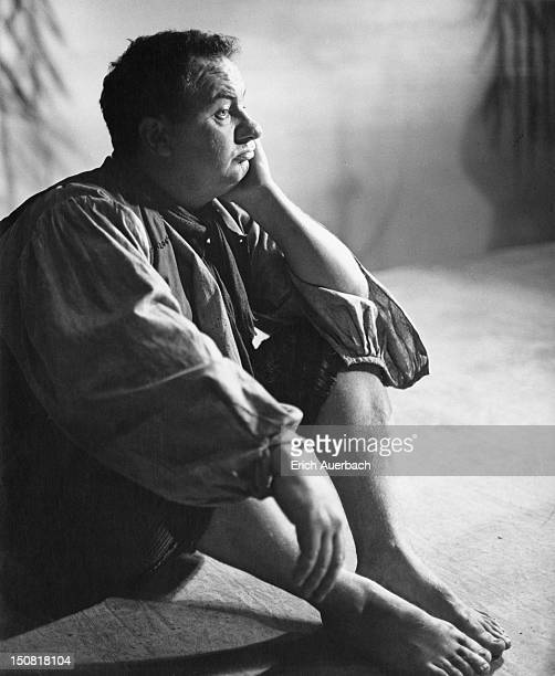 Australian actor Leo McKern as Peer Gynt in a production of Ibsen's 'Peer Gynt' at the Old Vic London 26th September 1962