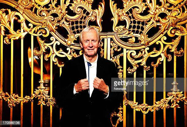 Australian actor Paul Hogan poses at the State Theatre to promote a series of shows called 'An Evening With Hoges' on June 12 2013 in Sydney Australia