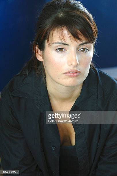 Australian actress Ada Nicodemou during a visit to Zambia as an Ambassador for the PIXI Foundation and Operation Eyesight on June 16 2005 Operation...