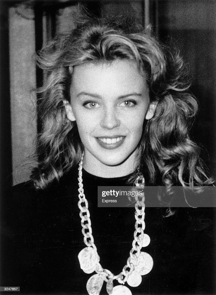Australian actress and pop singer Kylie Minogue.