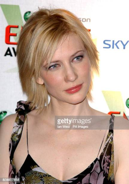 Australian actress Cate Blanchett arriving at The Dorchester Hotel in London for the Empire Film Awards * 22/06/03 Cate Blanchett who is determined...