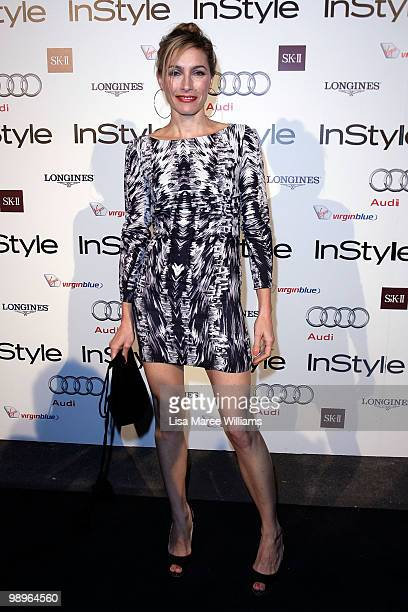 Australian actress Claudia Karvan attends the InStyle and Audi Women of Style Awards at Australian Technology Park on May 11 2010 in Sydney Australia