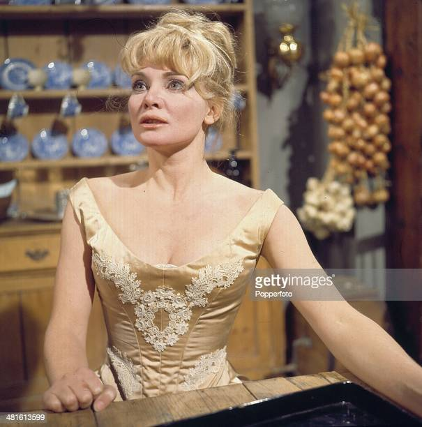 1968 Australian actress Diane Cilento pictured in a scene from the television drama 'Tempo Miss Julie from Strindberg' in 1968