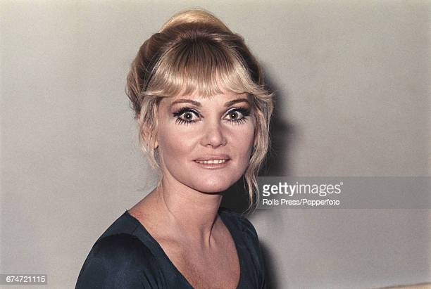 Australian actress Diane Cilento who currently appears in the television series 'Rogues' Gallery' pictured in London on 28th October 1969