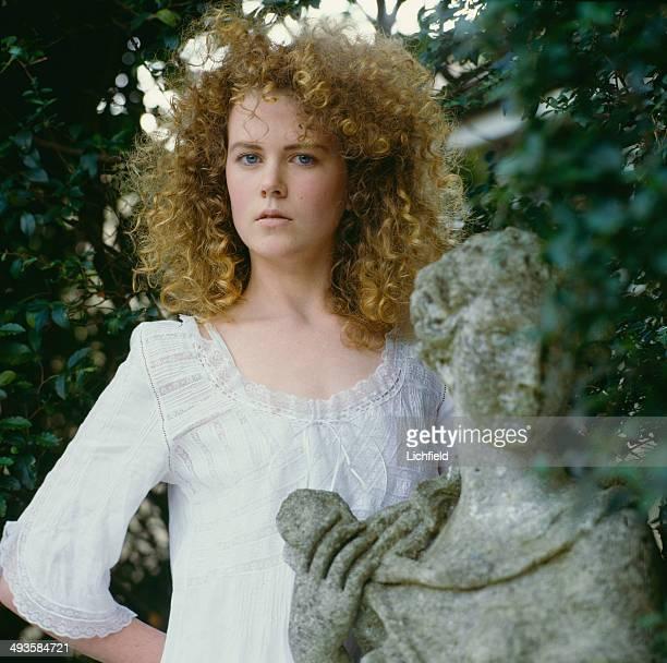 Australian actress Nicole Kidman 1st June 1986