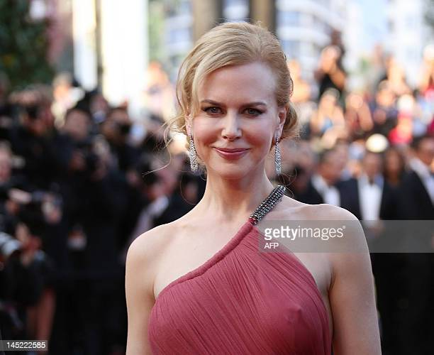 Australian actress Nicole Kidman arrives for the screening of 'The Paperboy' presented in competition at the 65th Cannes film festival on May 24 2012...