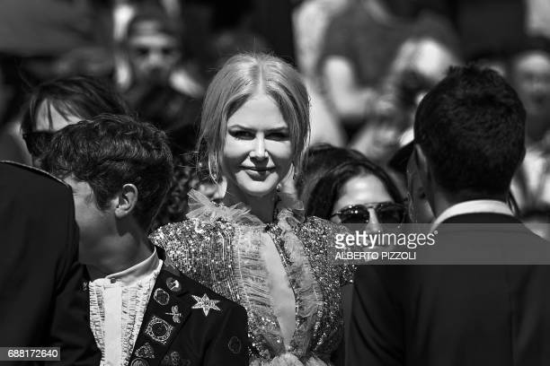 Australian actress Nicole Kidman arrives on May 21 2017 for the screening of the film 'How to talk to Girls at Parties' at the 70th edition of the...