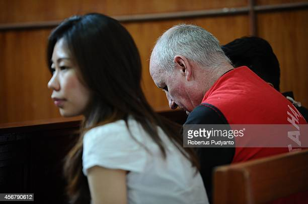 Australian Andrew Roger attends a court hearing for drug possession charges on October 7 2014 in Surabaya Indonesia Australian Andrew Roger faces up...