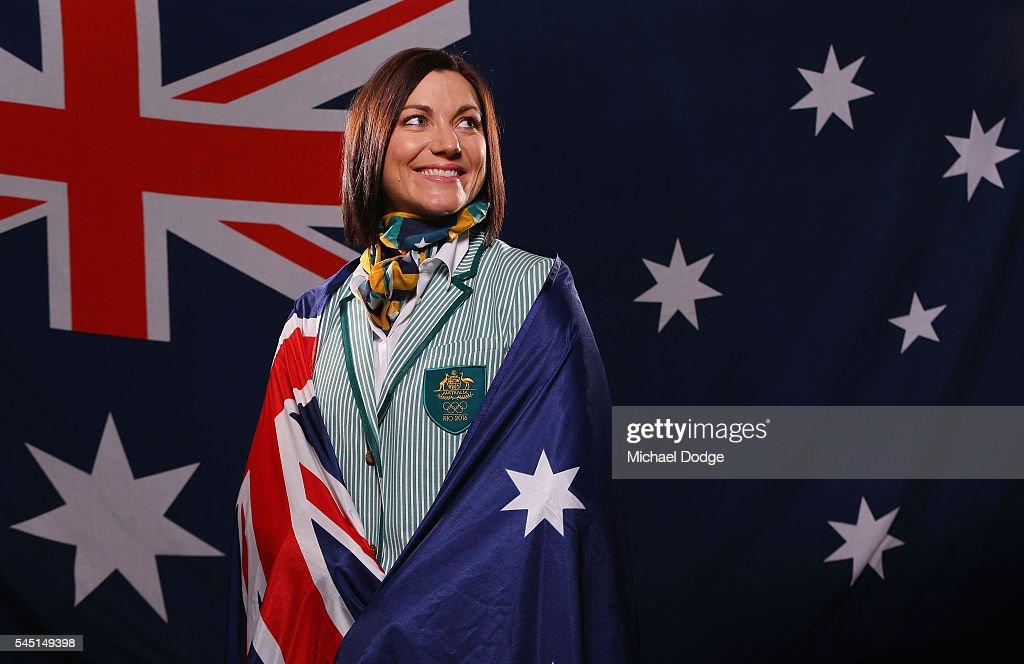 Australian Olympic Flag Bearer Photo Call