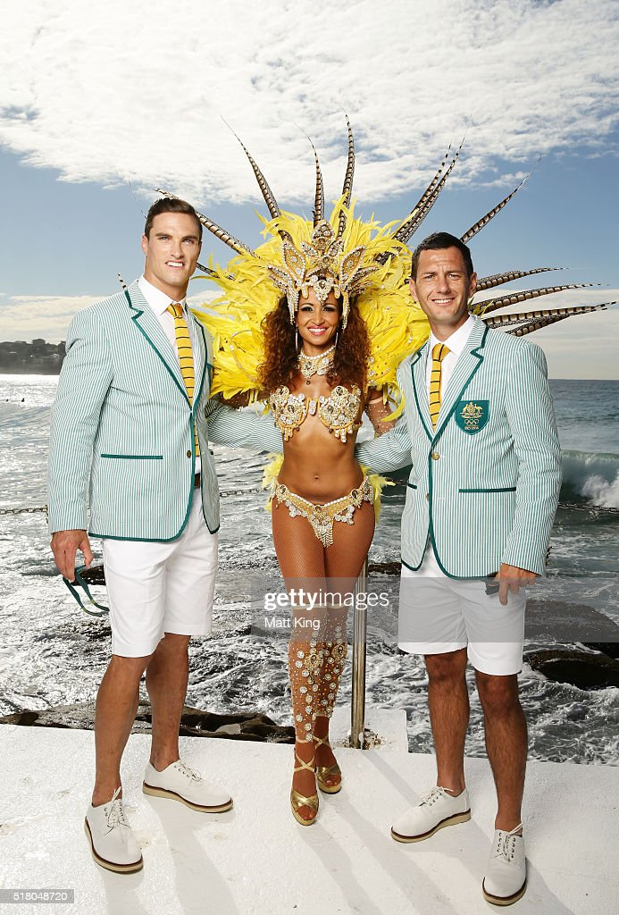 Australian Olympic Games Opening Ceremony Uniform Official Launch