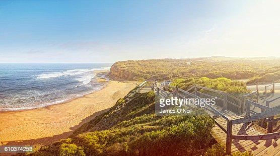 Australian beach : Stock Photo