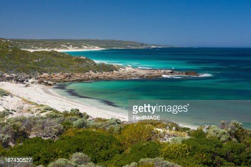 Escena de la playa australiana : Foto de stock