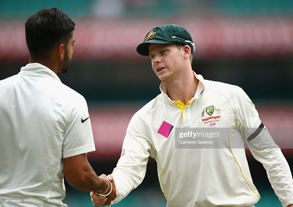 Australia v India - 4th Test: Day 5 : News Photo