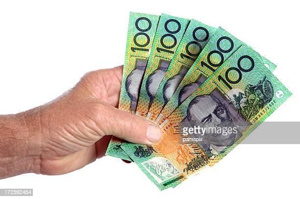 Australian Cash in the Hand
