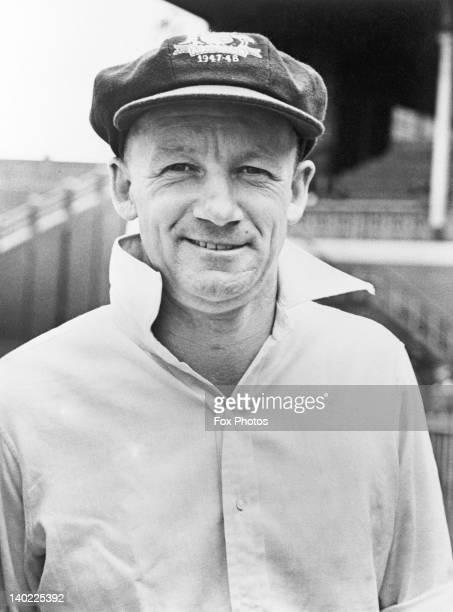 Australian cricketer Don Bradman February 1948