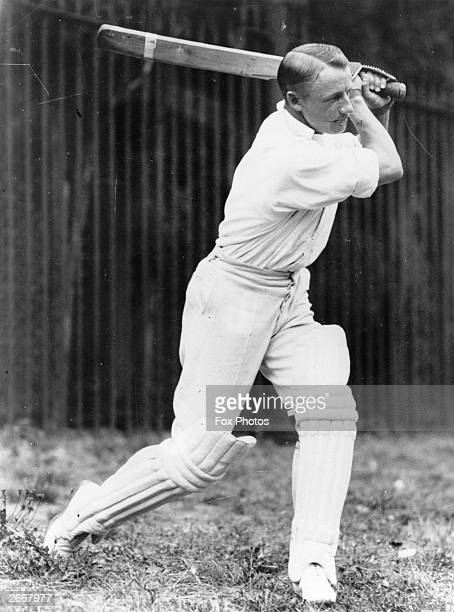 Australian cricketer Donald Bradman in action Bradman was knighted in 1949 for his services to cricket the first player to receive the honour