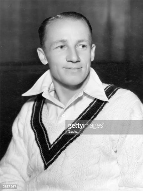 Australian cricketer Donald Bradman the first cricketer to be knighted in 1949 for his services to cricket