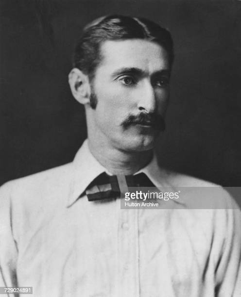 Australian cricketer Fred Spofforth circa 1885 Spofforth was known as 'The Demon Bowler' for his pace bowling
