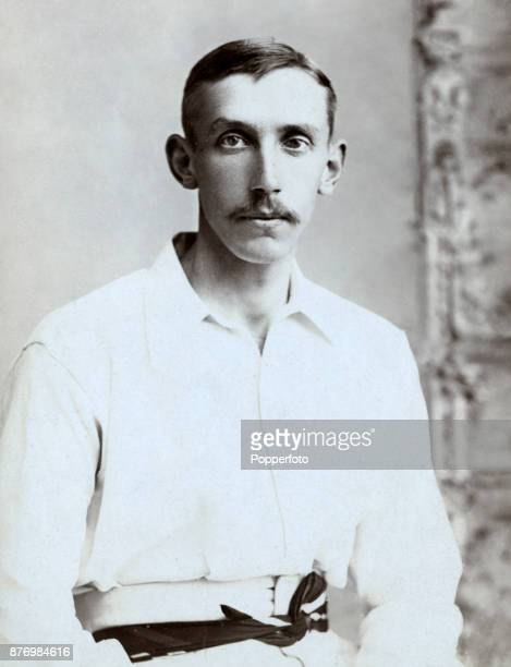 Australian cricketer Hugh Trumble photographed in Vancouver during their Tour of the USA and Canada circa 1893