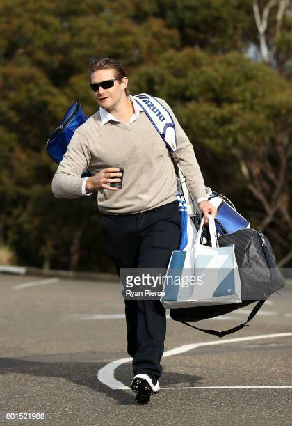 Australian Cricketer Shane Watson arrives during the Australian Cricketers' Association Golf Day at New South Wales Golf Club on June 27 2017 in...