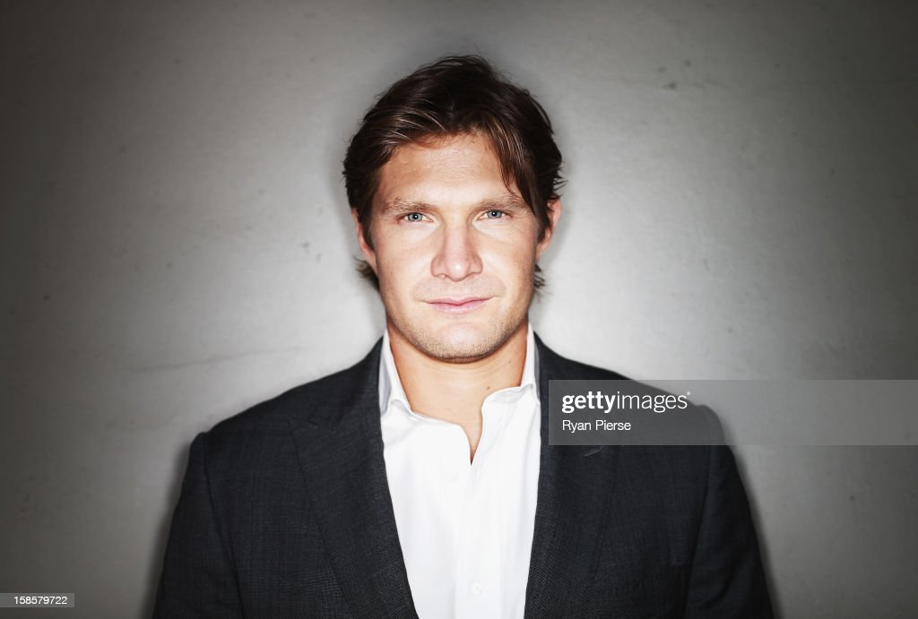 Australian cricketer <a gi-track='captionPersonalityLinkClicked' href=/galleries/search?phrase=Shane+Watson+-+Cricket+Player&family=editorial&specificpeople=171874 ng-click='$event.stopPropagation()'>Shane Watson</a> poses during a portrait session at the Sydney Cricket Ground on December 20, 2012 in Sydney, Australia.