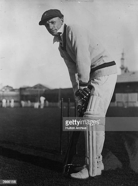 Australian cricketer Sir Don Bradman the first cricketer to be knighted in 1949 for his services to cricket