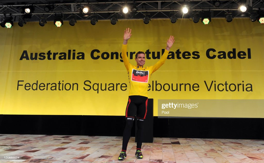 Cadel Evans Welcome Home Parade