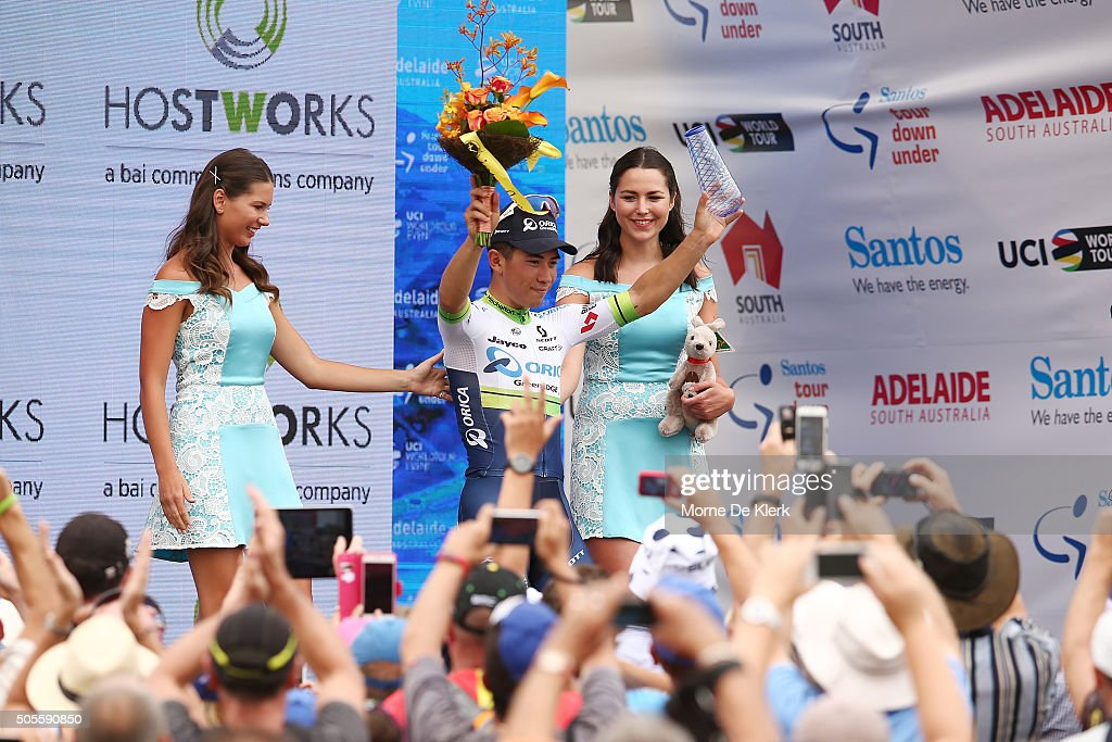 http://media.gettyimages.com/photos/australian-cyclist-caleb-ewan-of-orica-greenedge-celebrates-on-stage-picture-id505590850