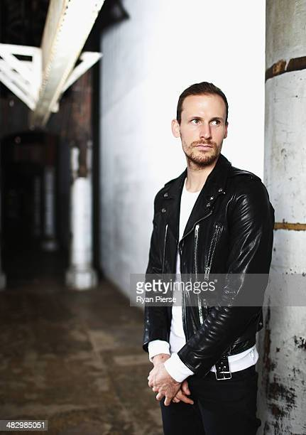 Australian designer Dion Lee poses for a portrait ahead of MercedesBenz Fashion Week Australia 2014 on April 6 2014 in Sydney Australia MerecedesBenz...