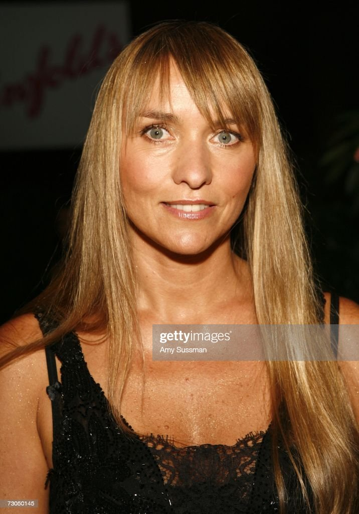 Australian fashion designer Collette Dinnigan attends the 2006 Australia Day Ball to honor Olivia Newton John at Cipriani Wall Street on January 19...