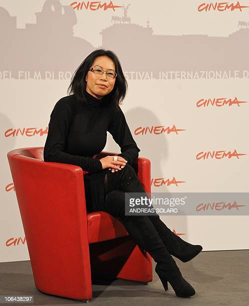 Australian film director YuHsiu Camille Chen poses during the photocall of 'Little Sparrows' at the 5th Rome Film Festival in Rome on November 2 2010...