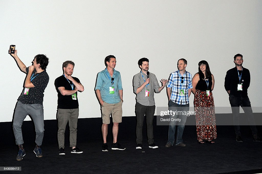 Australian Filmmakers attend G'Day Screenings at the 2016 Palm Springs International ShortFest - Saturday Screenings & Events on June 25, 2016 in Palm Springs, California.