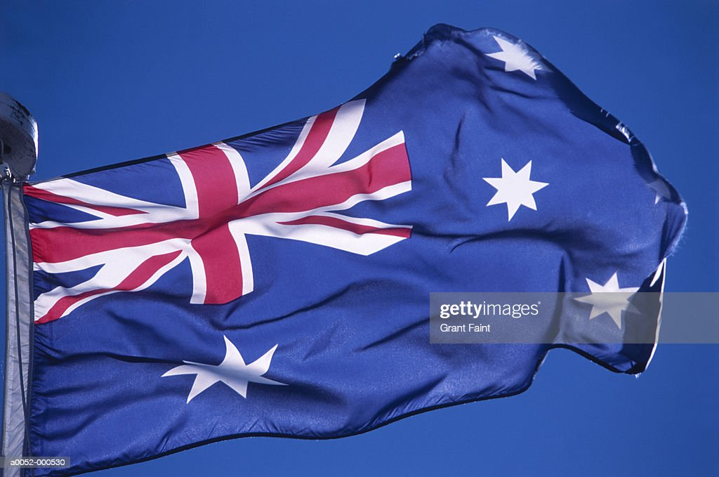 Australian Flag : Stock Photo