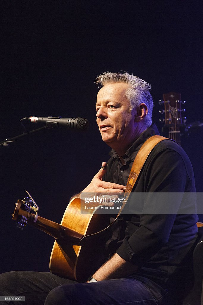 Australian guitarist Tommy Emmanuel performs at La Cigale on April 2, 2013 in Paris, France.