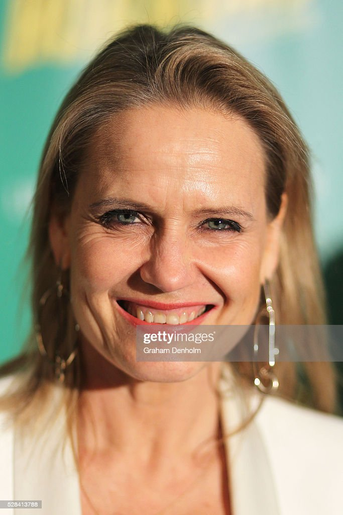 Australian interior designer and television personality Shaynna Blaze arrives ahead of the opening night for the Little Shop of Horrors at the Comedy Theatre on May 5, 2016 in Melbourne, Australia.