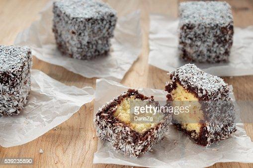Australian Lamington cake
