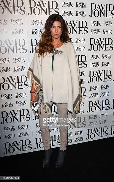 Australian media personality Jodhi Meares arrives at the David Jones Spring/Summer 2010 Season Launch at David Jones Elizabeth Street Store on August...