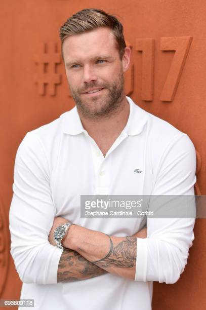 Australian Model Nick Youngquest attends the French Tennis Open 2017 Day Twelve at Roland Garros on June 8 2017 in Paris France