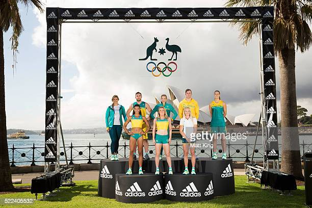 Australian Olympians Holly LincolnSmith Morgan Mitchell Adam Gibson Sally Pearson Madison Wilson Brooke Stratton Kyle Chalmers and Stephanie Talbot...