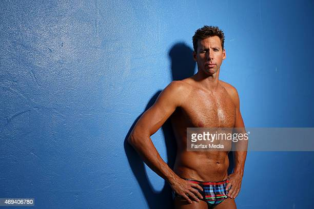 Australian Olympic swimmer Grant Hackett trains at the Miami Aquatic Centre in Brisbane March 31 2015 At 34 years of age Hackett is working hard to...