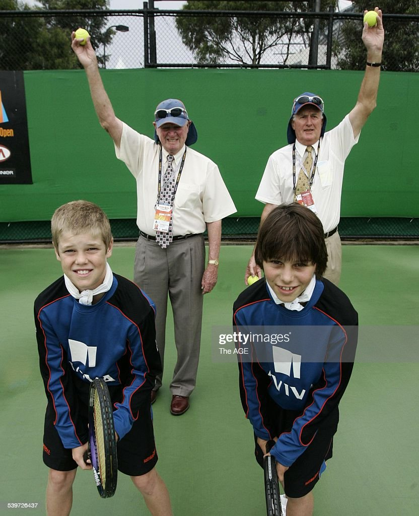 Australian Open 2006 Frank Sedgman and Neale Fraser with their