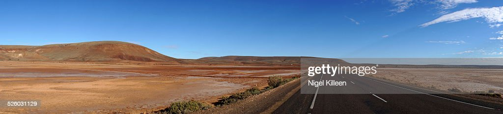 Australian Outback highway Panoramic
