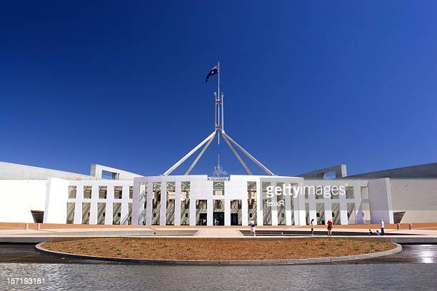 Australian Parliament House panorama view