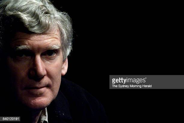 Australian playwright David Williamson at the Ensemble Theatre where his play ' A Conversation' opens next Friday Sydney 7 September 2001 SMH Picture...