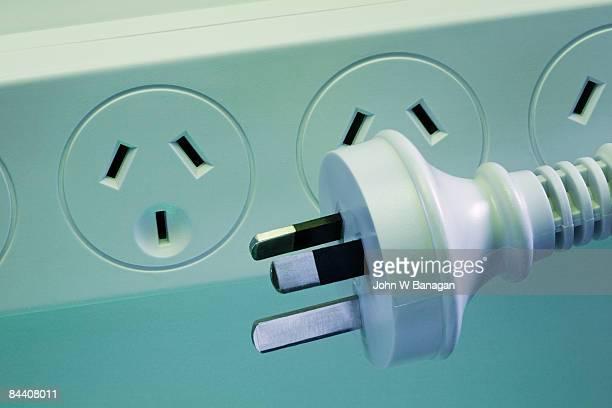 Australian plug and socket